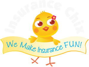Insurance Chix Logo White